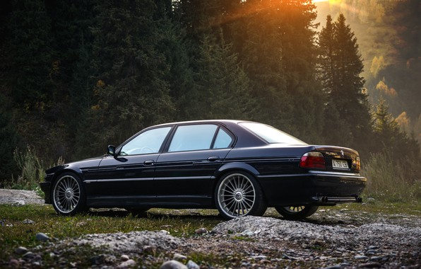 Picture BMW, 750Li, ALPINA, ALMATY