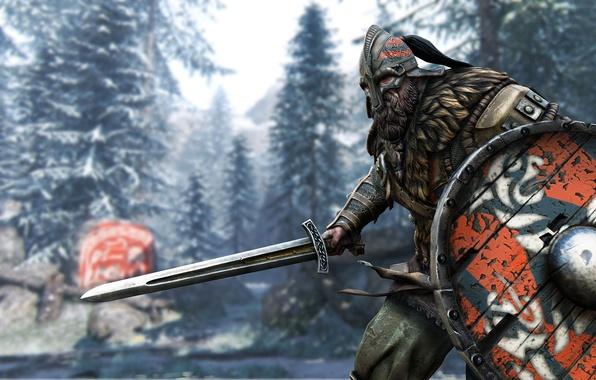 For Honor Viking Wallpaper: Wallpaper Sword, Game, Armor, Ken, Blade, Viking, Pearls