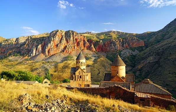 Picture mountains, Armenia, Armenia, Noravank