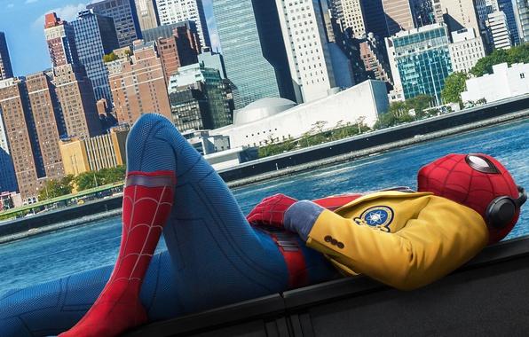 Picture the city, new York, spider-man, Spider-man: the Return home, Spider-Man: