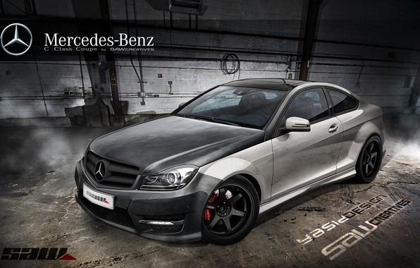 Picture car, auto, tuning, Mercedes, Mercedes, car, auto, tuning, Yasid Design, Yasid Oozeear, Mercedes c сlass …