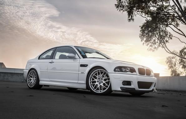 Picture BMW, White, E46, Bummer