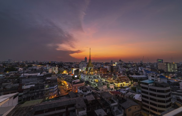 Picture the city, view, Thailand