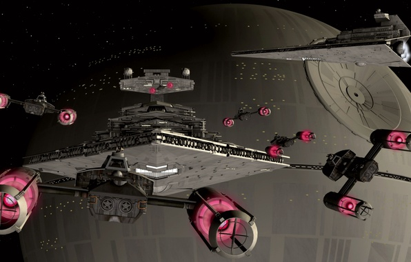 Photo wallpaper Star Wars, ships, star wars, Y-WING