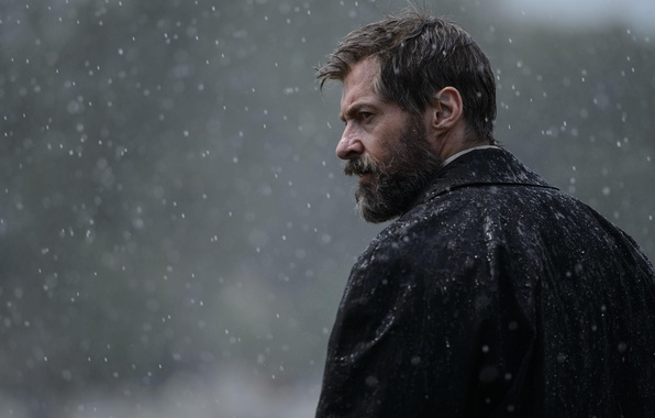 Picture cinema, Wolverine, Hugh Jackman, X-Men, Logan, old, man, Marvel, movie, face, film