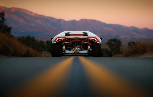 Picture road, Lamborghini, Huracan, Larry Chen