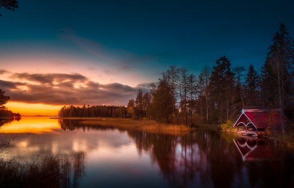 Picture Finland, Lake, Lakes