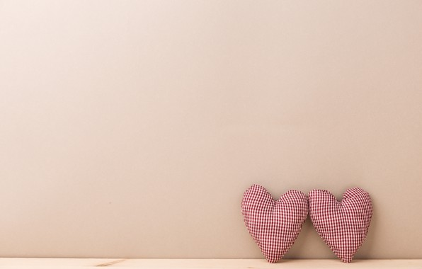 Picture background, toys, minimalism, Hearts