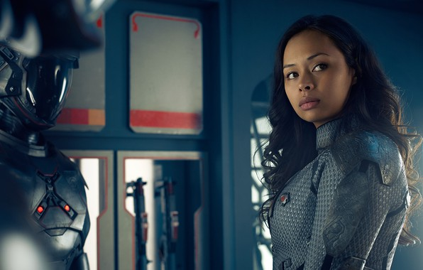 Picture actress, tv series, The Expanse, Roberta Draper, Frankie Adams