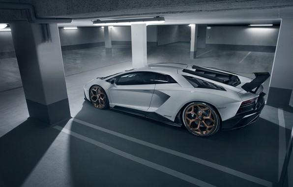 Picture Lamborghini, Parking, supercar, side view, 2018, Novitec Torado, Aventador S