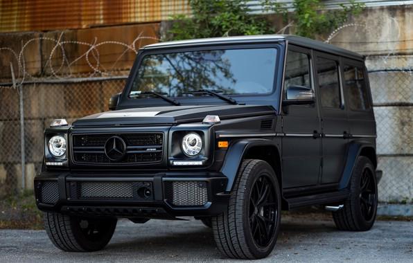 Picture Mercedes, AMG, Black, Grid, G63, W463, Brick