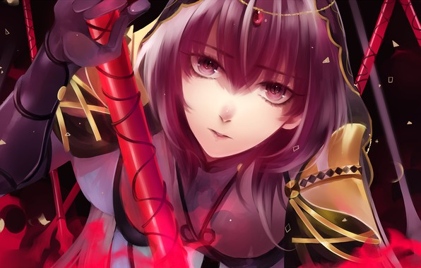 Picture look, girl, Lancer, Fate / Grand Order