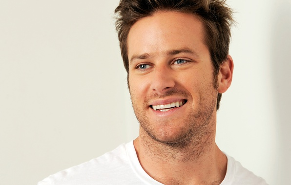 Picture look, face, smile, portrait, actor, male, Armie Hammer, Armie Hammer