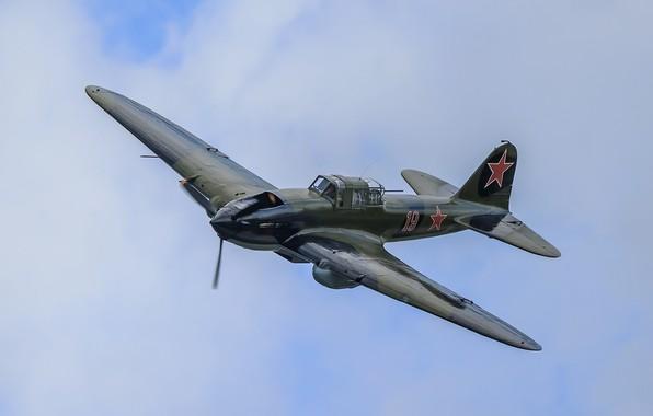 Picture the sky, flight, attack, WWII, Il-2
