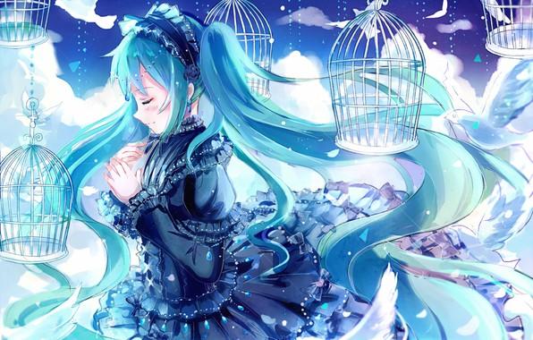 Photo Wallpaper Anime Hatsune Miku Vocaloid