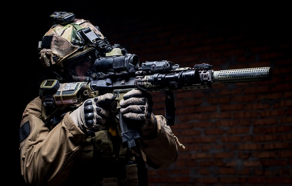 Photo wallpaper equipment, elite, pearls, soldier, Military