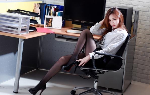 office sekretar porno