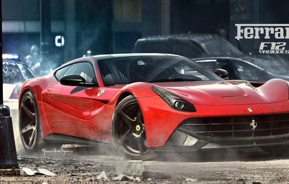 Picture car, auto, tuning, Ferrari, car, auto, tuning, F355, Challenge, Yasid Design, Yasid Oozeear