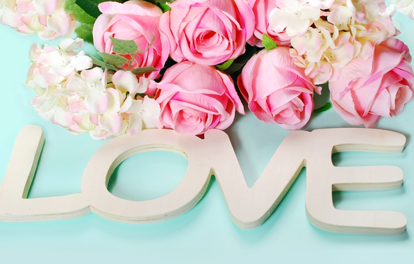 Wallpaper roses hearts love heart wood pink flowers romantic photo wallpaper roses hearts love heart wood pink flowers mightylinksfo
