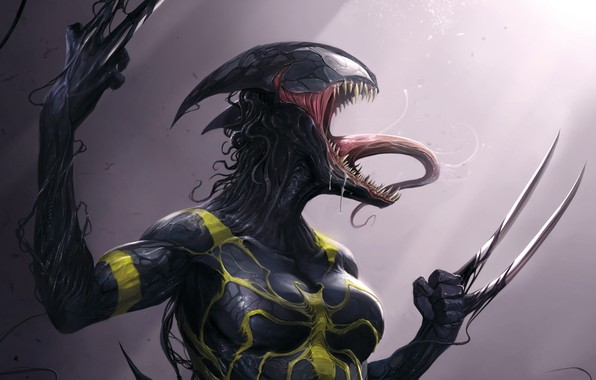 Picture Language, Teeth, Costume, Comic, Claws, Marvel, Comics, Venom, Venom, Symbiote, X-23, Marvel, Comics, X-23, Costume, …