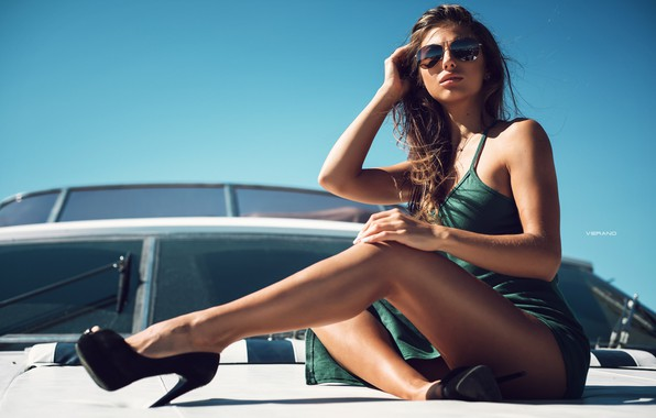 Picture pose, feet, yacht, glasses, shoes, Daria Shy, Nikolas Verano, Daria Kuvarzina