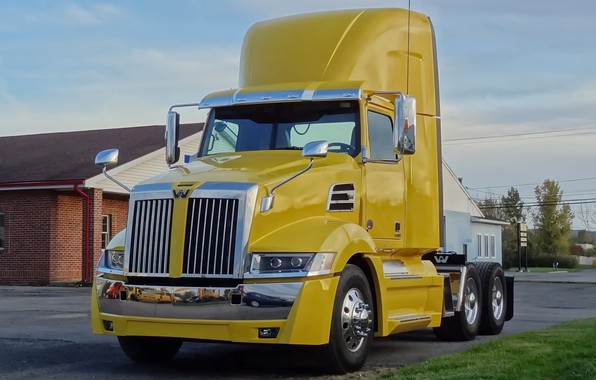 Picture yellow, Western Star, 5700XE