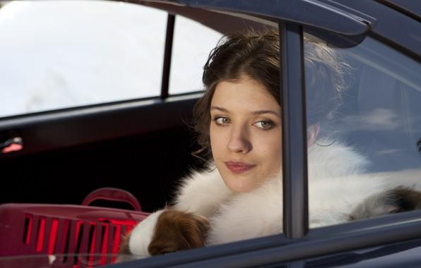 Picture look, in the car, Lena, Anna Chipovskaya, Yolki 3, Anna Chipovskaya