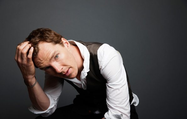 Picture look, face, male, shirt, Benedict Cumberbatch, Benedict Cumberbatch