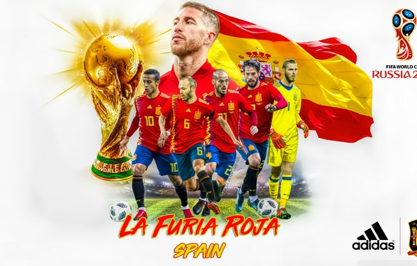 Picture football, Spain, 2018, The World Cup