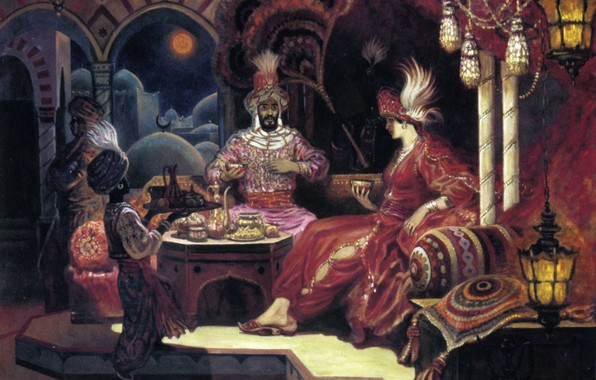 Picture East, Sultan, Olshansky Boris, The tale of the red Palace