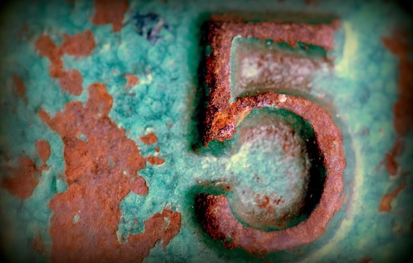 Picture background, rust, 105
