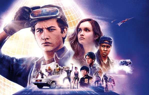 Picture One, Car, Fantasy, DeLorean DMC-12, DreamWorks, DeLorean, Girls, Jet, Gamer, year, 2018, Back to the ...
