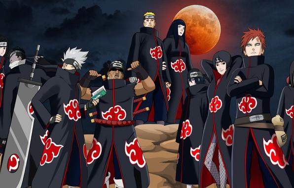 Picture Naruto, anime, ninja, Akatsuki, manga, shinobi, Naruto Shippuden, jinchuuriki, japonese, anian