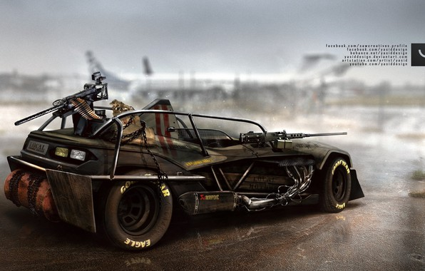 Picture Auto, Tuning, Car, Car, Auto, Tuning, Zombie Apocalypse, Yasid Design, Yasid Oozeear