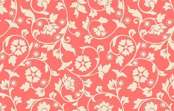 Picture Flowers, Pattern, Background, Texture