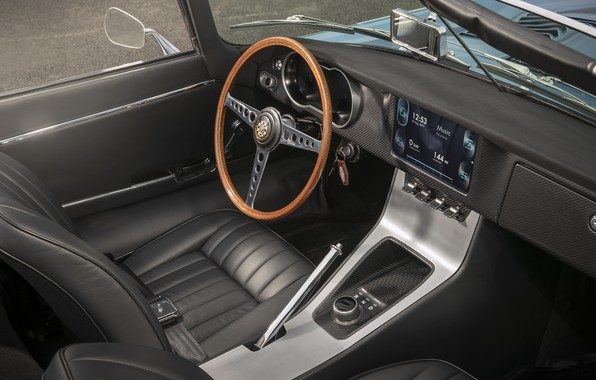 Picture Jaguar, concept, Jaguar, prototype, electric car, 2017, Jaguar E-type Zero, lectrosoul