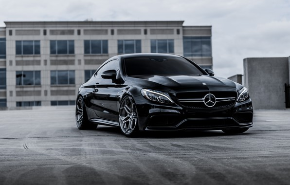 Wallpaper Mercedes Coupe Forged Wheels Velos Xx 2 Amg