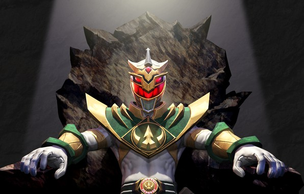 Picture background, white, fighter, armor, the throne, comics, evil, Power Rangers, throne, Power Rangers, Lord Drakkon, …