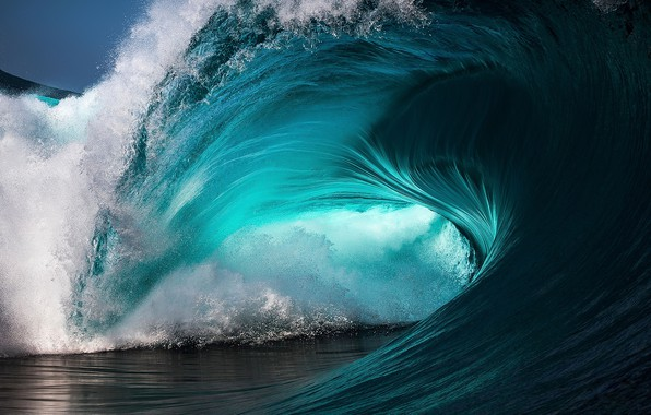 Picture sea, wave, water, squirt, the ocean, wave