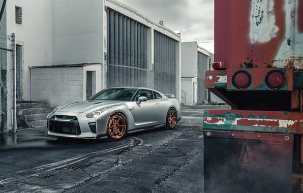 Photo wallpaper design, style, Nissan GTR
