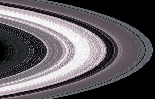 Picture Saturn, Cassini, the rings of Saturn