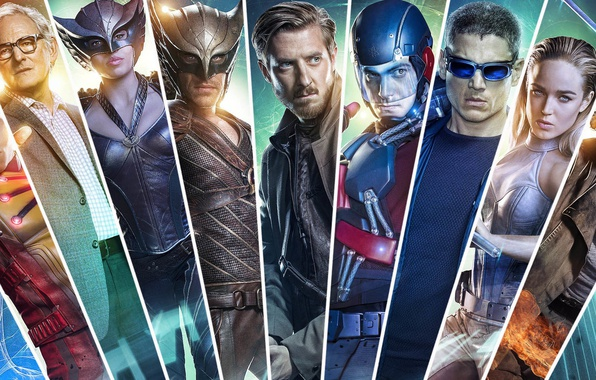 Picture movies, actors, the series, costumes, Legends of tomorrow, DC's Legends of Tomorrow