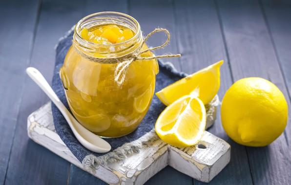 Picture lemon, Bank, citrus, jam, sweet
