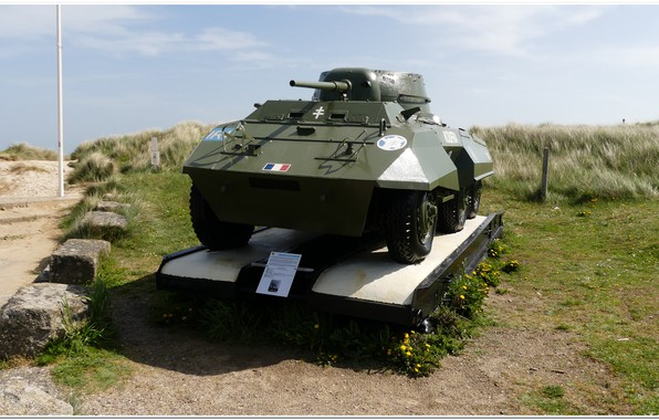 Picture france, normandy, d-day, ww2 tank, utha beach