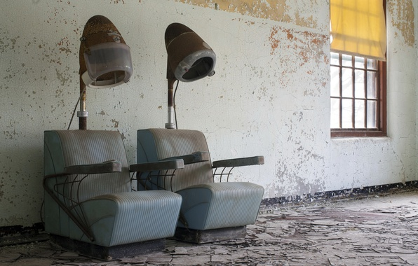 Picture background, chairs, Barber