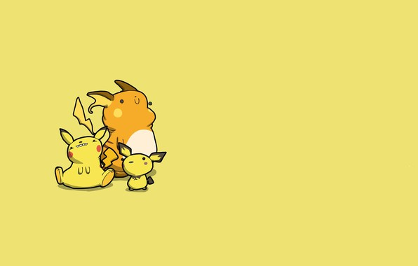 Picture mouse, Pikachu, caricature, electric, pokemon, pokemon, Pikachu, Pichu, the Rajcza, Raichu, Pichu