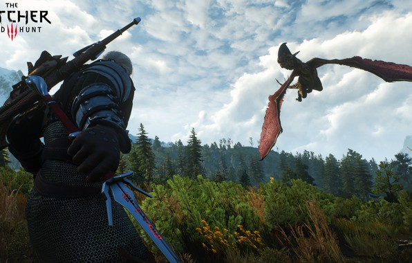 Picture the Witcher, Geralt, the Witcher 3: wild hunt