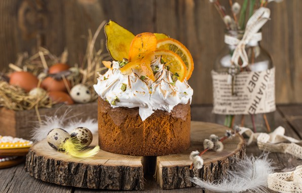 Picture decoration, Spring, Easter, Eggs, Holiday, cake, cakes