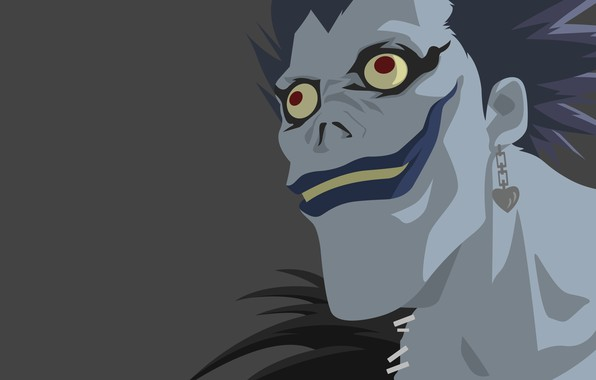 Photo Wallpaper Death Monster Note Ryuk