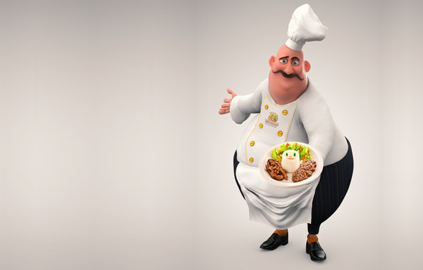 Picture food, cook, Chief, Guilherme Gomes, chief